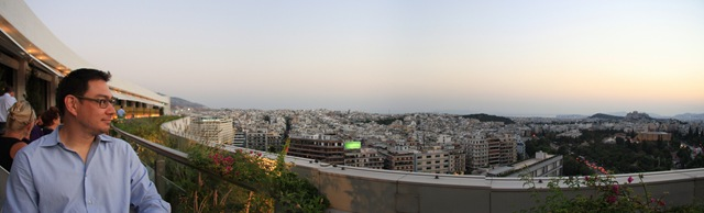Athens from Hilton Hotel 2