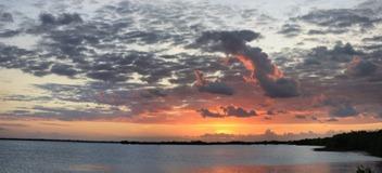 Progresso - sunset
