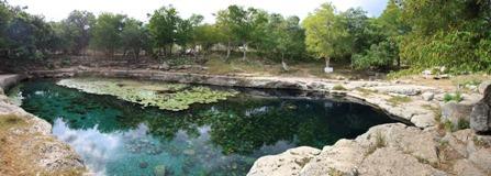 Dzibilchatum lagoon