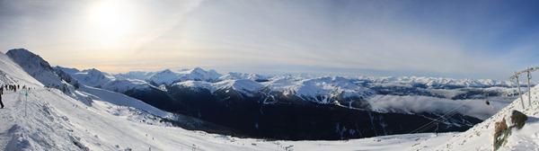 Blackcomb panorama