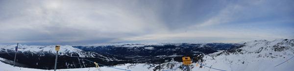 Blackcomb panorama 2